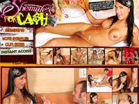 Welcome to Shemales For Cash! Once you hand these transsexuals some money, they�ll let you do anything you want to them!