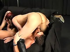 Sex with vamp shemale in high boots